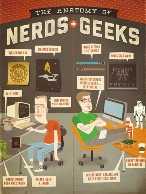 the difference between nerds and geeks stew geeks vs nerds which are you infographic walyou