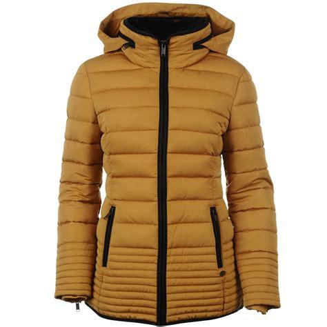 Luxurius Jacket firetrap womens luxury jacket sleeve hooded hoodie coat top ebay