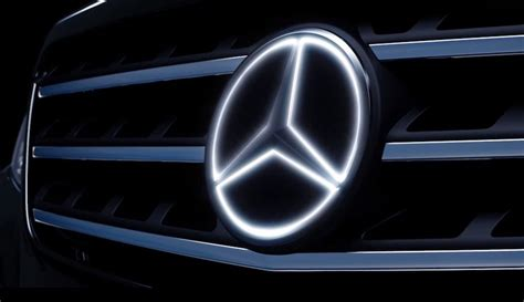 Mercedes Light Up Emblem by Mercedes To Offer Illuminated Emblem Sj Post