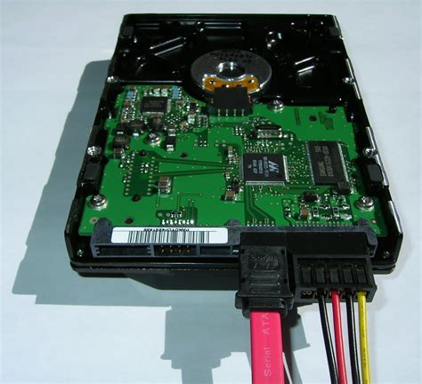Hardisk Ata Bestand Serial Ata Disk Connected Jpg