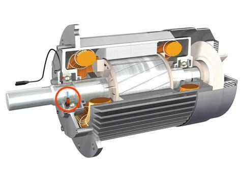 electric motor grounding ring
