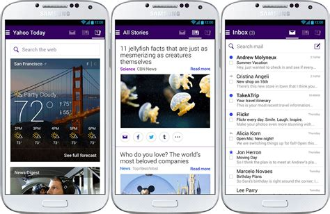 yahoo mail android neue yahoo mail app f 252 r android ver 246 ffentlicht