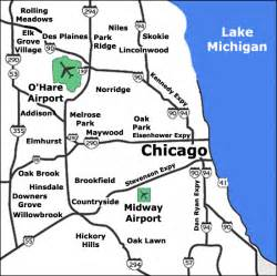 chicago map with airports chicago limo services o hare airport transportation midway limo automotive luxury limo