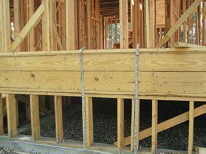 Wood stem wall foundation   Construction   Pinterest