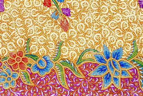 pattern of batik embellishments explained from beading to batik