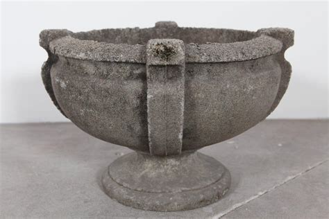 concrete urn planter at 1stdibs