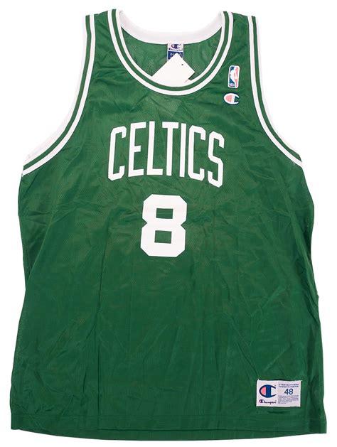 walker boston antoine walker autographed boston celtics chion jersey 4 250 fleer coa da card