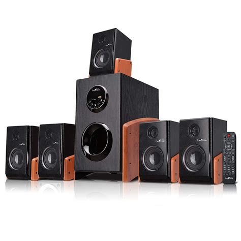 best bluetooth home theater system befree 5 1 channel surround sound home theater bluetooth