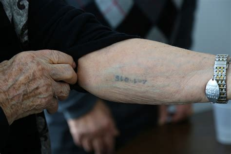 tattoo numbers in holocaust howard nancy kleinberg testimonies of survivors
