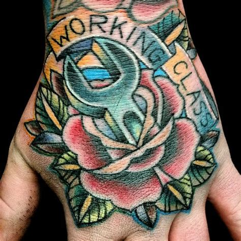 working class tattoo 15 strong working class inspired tattoos tattoodo