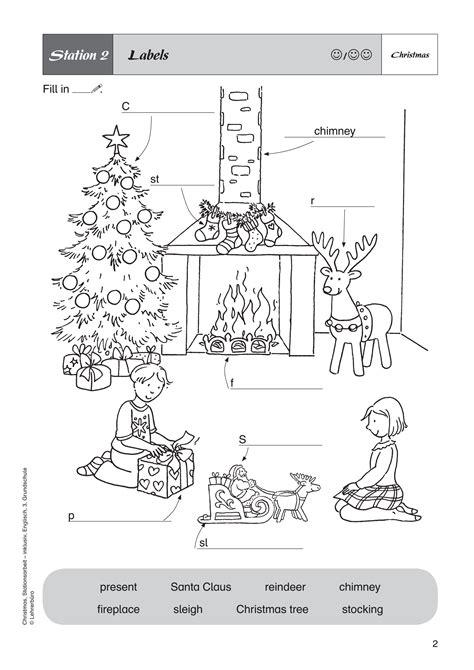 weihnachtsbaum auf englisch arbeitsbl 228 tter 183 lehrerb 252 ro