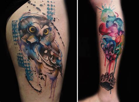 bored panda tattoo artist tattoo artist creates impressive freehand tattoos on the