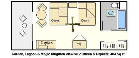 Polynesian Hotel Room Layout | 301 moved permanently