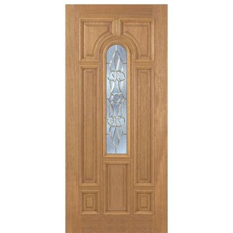 escon doors m509l revis mahogany entry door with serenity