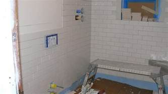 Installing Shower Tile Build A Shower