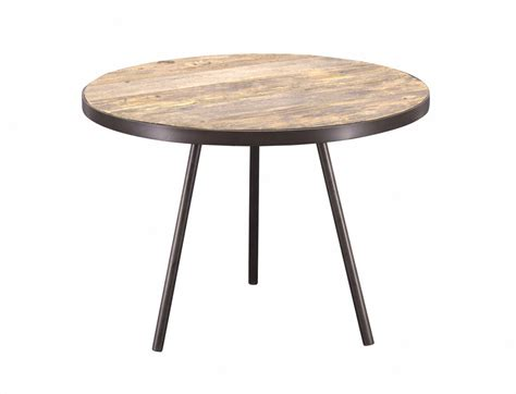 Unfinished Side Table Side Table Boston Black Metal Unfinished Wooden Top