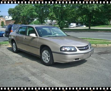 Nick Chevrolet Used Cars Nick Impala 2003 Chevrolet Impala Specs Photos
