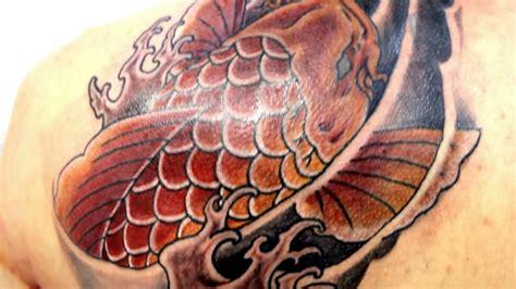 ascending koi tattoo youtube japanese tattoo koi fish японская татуировка карп quot кои quot