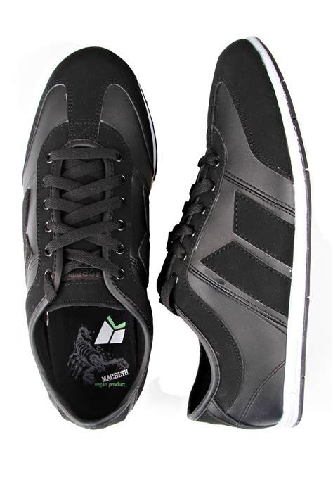 Macbeth Black macbeth brighton black black synthetic shoes impericon uk