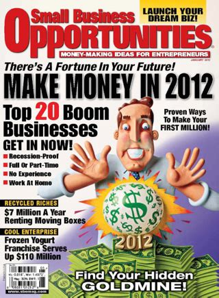 small business opportunities magazine media kit info