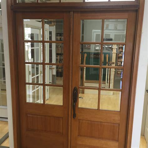 completed amish custom doors