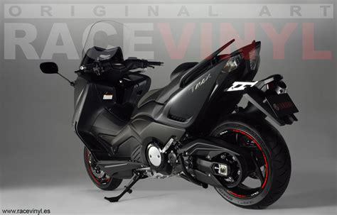 Wallpaper Sticker 125 yamaha tmax racevinyl europe