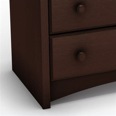 South Shore Changing Table Espresso South Shore Furniture Changing Table In Espresso 3559331