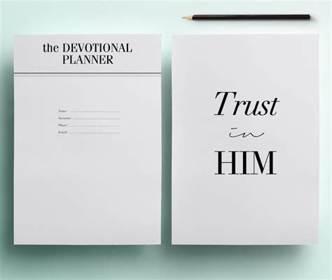 printable daily devotional calendar christian planner pack printable daily devotional journal