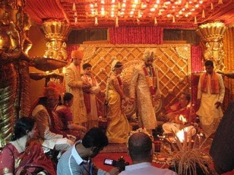 Aishwarya Post Wedding Ceremony by Aishwarya And Abhishek Bachan Wedding