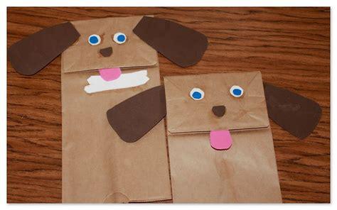 dog puppet pattern paper bag puppy love dog gone cute crafts zacsk 243 b 225 bok pinterest