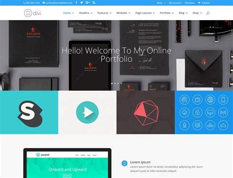 divi theme exles portfolio 30 best portfolio wordpress themes 2016 athemes