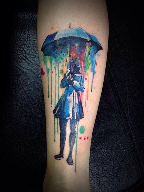 watercolor tattoo umbrella umbrella watercolor best ideas designs