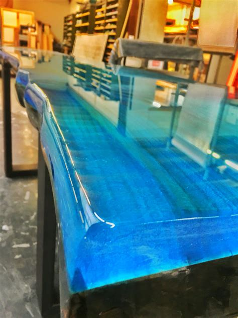 resin for bar top epoxy resin ocean blue ccoating new collection line