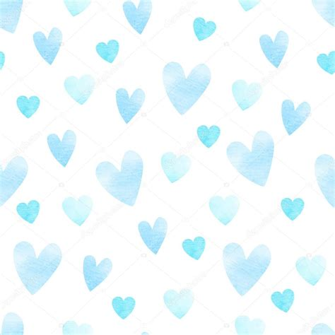 pattern blue heart blue heart pattern stock vector 169 korinoxe 52632945