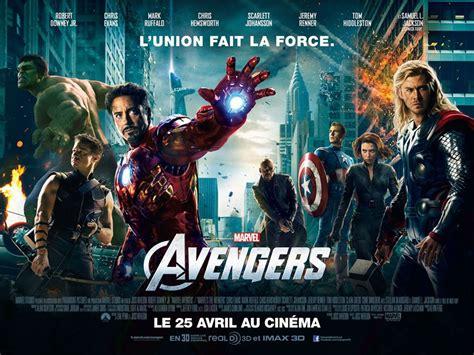 Film Marvel Prochainement | affiche du film avengers affiche 11 sur 19 allocin 233