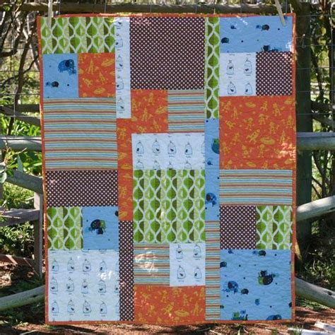 Quarter Baby Quilt Patterns Free by Quilting Easy Quarter Quilt Home Made