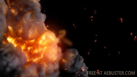 Fire Storm Free After Effects Template Youtube After Effects Explosion Template Free