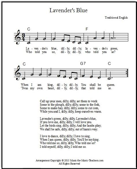 twinkle testo cinderella song lyrics and sheet quot lavender s blue