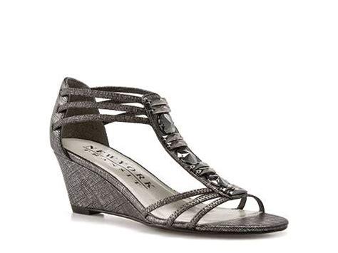 new york transit shoes new york transit great moment wedge sandal dsw