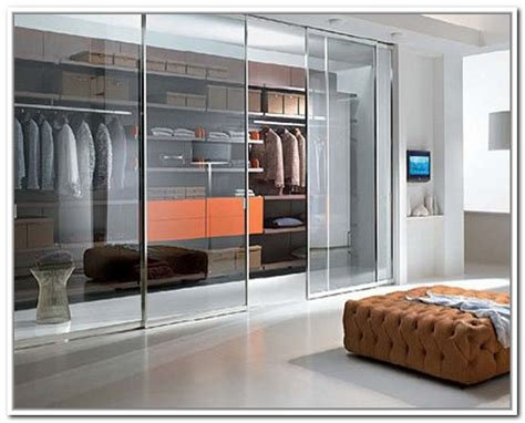 homeofficedecoration walk in closet door ideas