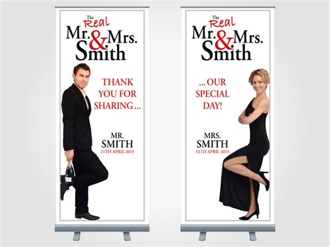 Wedding Pull Up Banner by Professionally Designed Exhibition Banners For Your Business