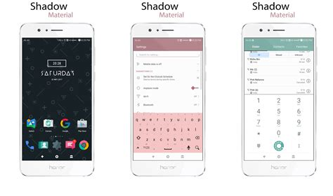 emui theme material shadow material theme for emui 5 huawei theme emui themes