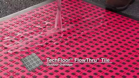 TechFloor? Premium FlowThru? Floor Tiles with