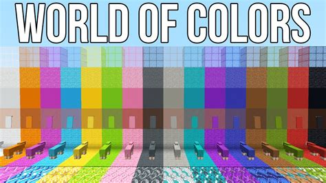 minecraft colors minecraft 1 12 news world of colors to be released friday