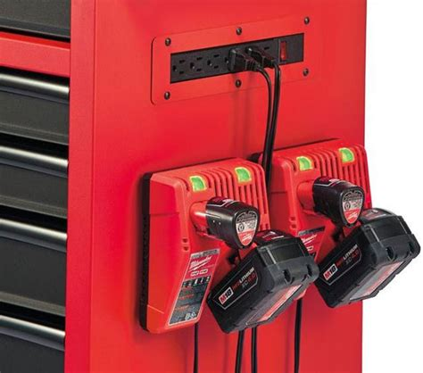 power tool storage cabinet milwaukee ball bearing tool storage is full of convenient