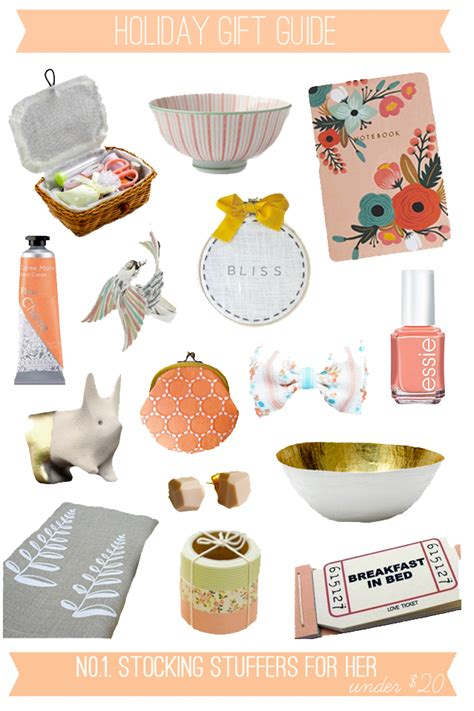 stocking stuffers for her oh the lovely things 2012 holiday gift guide no1 stocking stuffers for her under 20