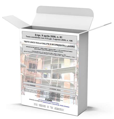 testo unico 81 d lgs 81 2008 aggiornato dicembre 2014