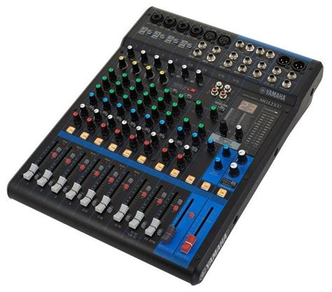 Mixer Audio Yamaha Mg12xu yamaha mg12x professional audio mixer