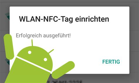 nfc tags android android tipp wlan verbindung in nfc tag schreiben