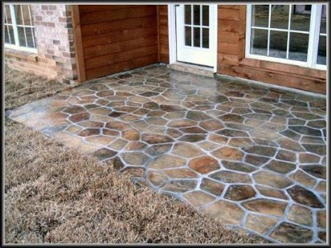Painted Concrete Patio Ideas by Outside Patio Flooring Diy Concrete Patio Ideas Concrete